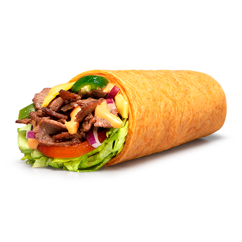 Wrap Steak Cheese Subway